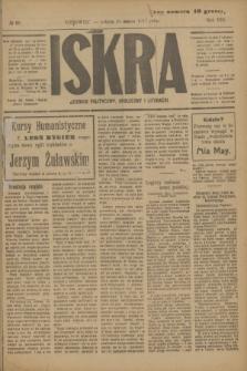 Iskra : dziennik polityczny, społeczny i literacki. R.8, № 68 (24 marca 1917)