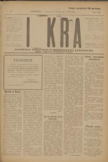 Iskra : dziennik polityczny, społeczny i literacki. R.8, № 89 (19 kwietnia 1917)