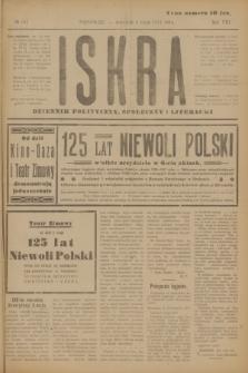 Iskra : dziennik polityczny, społeczny i literacki. R.8, № 101 (3 maja 1917)
