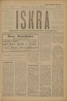 Iskra : dziennik polityczny, społeczny i literacki. R.8, № 111 (16 maja 1917)
