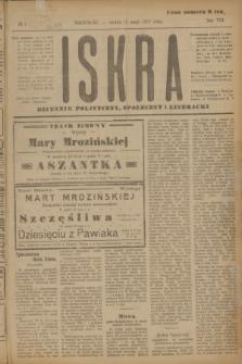 Iskra : dziennik polityczny, społeczny i literacki. R.8, № 113 (19 maja 1917)