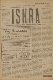 Iskra : dziennik polityczny, społeczny i literacki. R.8, № 116 (23 maja 1917)