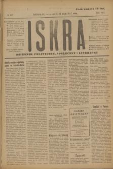Iskra : dziennik polityczny, społeczny i literacki. R.8, № 117 (24 maja 1917)