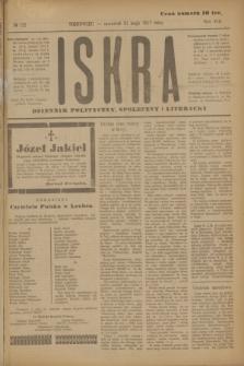 Iskra : dziennik polityczny, społeczny i literacki. R.8, № 122 (31 maja 1917)