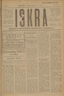 Iskra : dziennik polityczny, społeczny i literacki. R.8, № 123 (1 czerwca 1917)