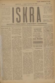Iskra : dziennik polityczny, społeczny i literacki. R.8, № 126 (5 czerwca 1917)