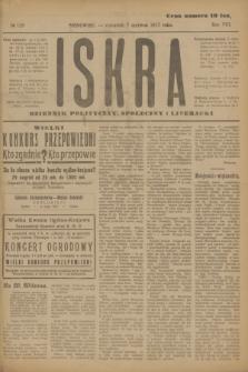 Iskra : dziennik polityczny, społeczny i literacki. R.8, № 128 (7 czerwca 1917)