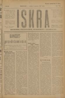 Iskra : dziennik polityczny, społeczny i literacki. R.8, № 129 (9 czerwca 1917)