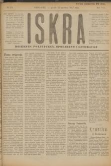 Iskra : dziennik polityczny, społeczny i literacki. R.8, № 134 (15 czerwca 1917)