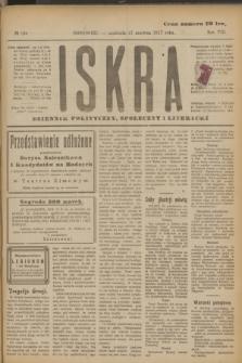 Iskra : dziennik polityczny, społeczny i literacki. R.8, № 136 (17 czerwca 1917)