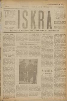 Iskra : dziennik polityczny, społeczny i literacki. R.8, № 137 (19 czerwca 1917)