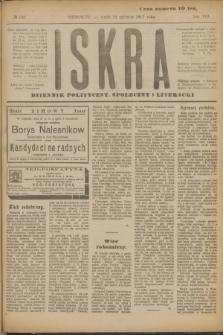 Iskra : dziennik polityczny, społeczny i literacki. R.8, № 138 (20 czerwca 1917)