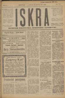 Iskra : dziennik polityczny, społeczny i literacki. R.8, № 142 (24 czerwca 1917)