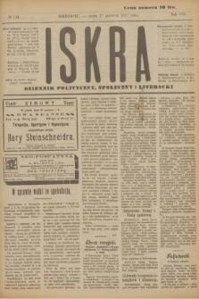 Iskra : dziennik polityczny, społeczny i literacki. R.8, № 144 (27 czerwca 1917)