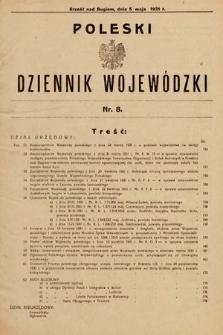 Poleski Dziennik Wojewódzki. 1931, nr8