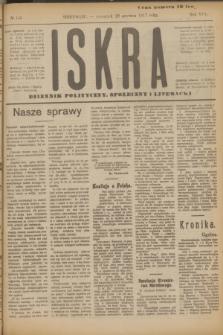 Iskra : dziennik polityczny, społeczny i literacki. R.8, № 145 (28 czerwca 1917)