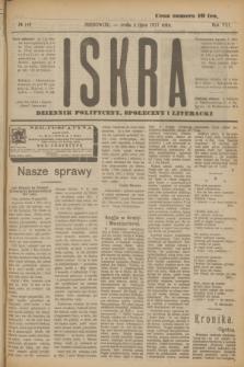 Iskra : dziennik polityczny, społeczny i literacki. R.8, № 149 (4 lipca 1917)