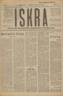 Iskra : dziennik polityczny, społeczny i literacki. R.8, № 156 (12 lipca 1917)