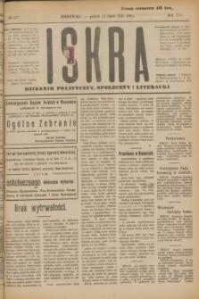 Iskra : dziennik polityczny, społeczny i literacki. R.8, № 157 (13 lipca 1917)