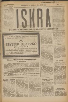 Iskra : dziennik polityczny, społeczny i literacki. R.8, № 158 (14 lipca 1917)