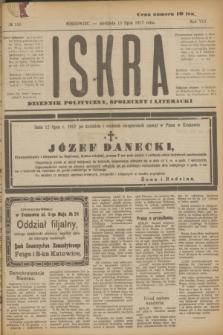 Iskra : dziennik polityczny, społeczny i literacki. R.8, № 159 (15 lipca 1917)