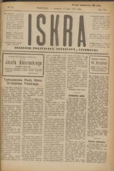 Iskra : dziennik polityczny, społeczny i literacki. R.8, № 162 (19 lipca 1917)