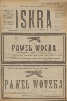 Iskra : dziennik polityczny, społeczny i literacki. R.8, № 170 (28 lipca 1917)