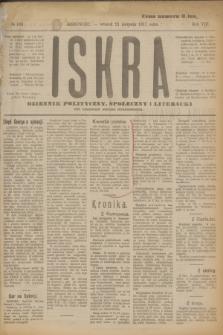 Iskra : dziennik polityczny, społeczny i literacki. R.8, № 189 (21 sierpnia 1917)