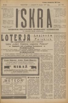 Iskra : dziennik polityczny, społeczny i literacki. R.8, № 191 (23 sierpnia 1917)