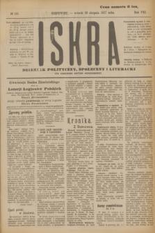Iskra : dziennik polityczny, społeczny i literacki. R.8, № 195 (28 sierpnia 1917)