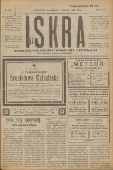 Iskra : dziennik polityczny, społeczny i literacki. R.8, № 200 (2 września 1917)