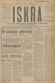 Iskra : dziennik polityczny, społeczny i literacki. R.8, № 204 (7 września 1917)