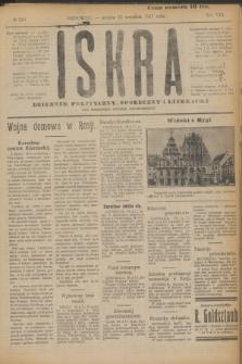 Iskra : dziennik polityczny, społeczny i literacki. R.8, № 210 (15 września 1917)