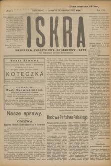Iskra : dziennik polityczny, społeczny i literacki. R.8, № 214 (20 września 1917)