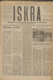 Iskra : dziennik polityczny, społeczny i literacki. R.8, № 219 (26 września 1917)