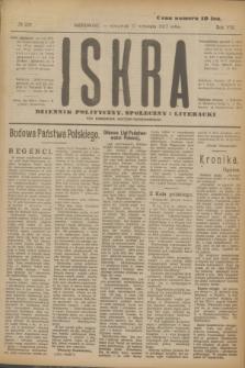Iskra : dziennik polityczny, społeczny i literacki. R.8, № 220 (27 września 1917)