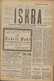 Iskra : dziennik polityczny, społeczny i literacki. R.8, № 221 (28 września 1917)