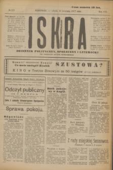 Iskra : dziennik polityczny, społeczny i literacki. R.8, № 222 (29 września 1917)