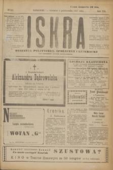 Iskra : dziennik polityczny, społeczny i literacki. R.8, № 225 (4 października 1917)
