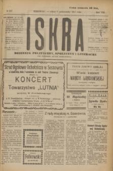 Iskra : dziennik polityczny, społeczny i literacki. R.8, № 227 (6 października 1917)