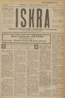 Iskra : dziennik polityczny, społeczny i literacki. R.8, № 228 (9 pażdziernika 1917)