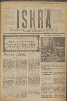 Iskra : dziennik polityczny, społeczny i literacki. R.8, № 237 (19 października 1917)