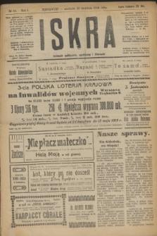 Iskra : dziennik polityczny, społeczny i literacki. R.10, № 90 (20 kwietnia 1919) + dod.