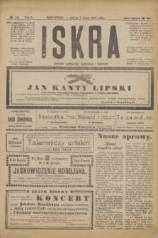 Iskra : dziennik polityczny, społeczny i literacki. R.10, № 100 (3 maja 1919)