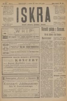 Iskra : dziennik polityczny, społeczny i literacki. R.10, № 104 (10 maja 1919)