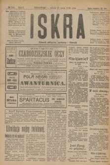 Iskra : dziennik polityczny, społeczny i literacki. R.10, № 108 (17 maja 1919)