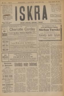 Iskra : dziennik polityczny, społeczny i literacki. R.10, № 112 (22 maja 1919)