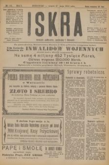 Iskra : dziennik polityczny, społeczny i literacki. R.10, № 116 (27 maja 1919)