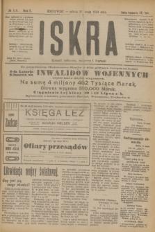 Iskra : dziennik polityczny, społeczny i literacki. R.10, № 119 (31 maja 1919)
