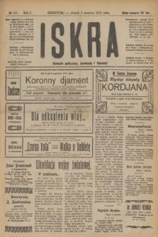 Iskra : dziennik polityczny, społeczny i literacki. R.10, № 121 (3 czerwca 1919)